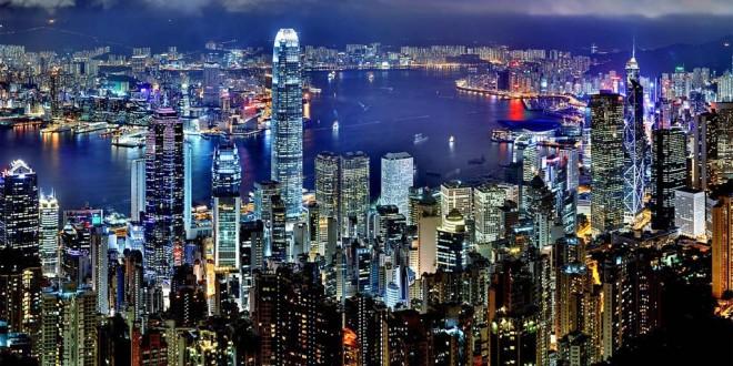 Lo skyline di Hong Kong